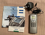 Nokia 9210 Communicator Gray - With Books - Rare - Collectible