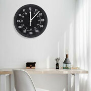 Seven Colors Adjustable 24 Hours Led Wall Clock World Time With Remote Control