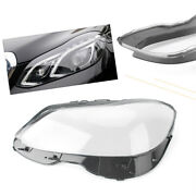 1 Pc Left Headlight Clear Lens Cover Shell For Mercedes Benz W212 2014-15