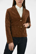 Annabelle Gale Women Jackets Size S Brown Corduroy Skinny Jacket Brown S Sta...