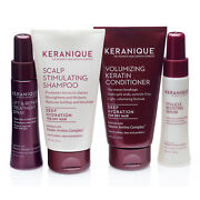 Keranique Deep Hydration Thicker Fuller Hair System With Keratin 30 Days