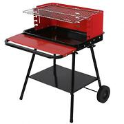 Bbq Grill With Storage Board Barbecue Grill Rack For Steak Chicken Breast