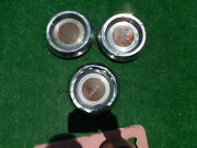 1953 1954 Cadillac Wire Hubcap Centers 3 Of Them 53 54