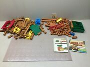Lincoln Logs Wild West Frontier Misc Sets