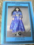 Ranimichelle Munzone 2003 Cloth Art 20 50cm Doll Pattern Oop And Rare