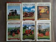 Lot Of 6 Antique Power The Tractor Collectorand039s Magazine Full Year 2000