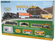 Bachmann 24133 N Scale Whistle-stop Special With Digital Sound Train Set