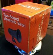 Safe House 49-488dt Two Sound Electronic Siren Horn Alarm New Old Stock Sealed