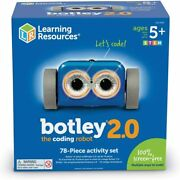 Learning Resources Botley 2.0 Childrenand039s Coding Robot 78 Piece Activity Set