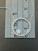 Hearts On Fire 18kt Wg 3/4ctw Diamond Circle Of Life Necklace