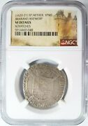 1620 Spanish Netherlands Ngc Vf Details 1pws Brabant Antwerp Silver 1/4 Patagon