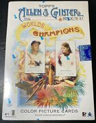 Sealed 2006 Topps Allen And Ginter Baseball Hobby Box First Year