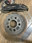05-12 Saleen 14 4 Piston Stoptech Brake Kit With Slotted Rotors And Pads