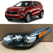 Headlight Replacement For 2017 2018 2019 Kia Sportage 92101-d9110 Left Driver