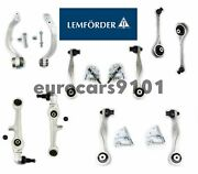 Audi A8 S8 Lemforder Front Upper And Lower Forward And Rearward Control Arm Kit