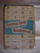 American Silver Manufacturers By Rainwater Marks Trademarks And History 1966