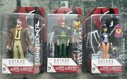 Batman The Animated Series Dc Direct Lot Of 8 Carded Figures - Htf Rare