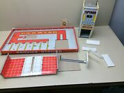 Vintage Superior Service Station And Parking Garage Playset Pieces - Tin Litho