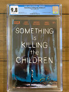 Something Is Killing The Children 1 - Cgc 9.8 1st First Print - Boom Studios A