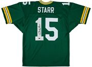 Bart Starr Signed Autographed Jersey Green Bay Packers Tristar 6177239