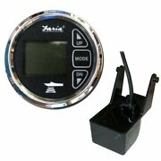 Faria 2 Dual Depth Sounder W/air And Water Temp Transom Mount Transducer Chesa...