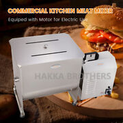 Hakka Commercial 50l Meat Mixer Gear Driven Electric Stainless Steel Machine