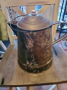 9 1/2 Inch   Camp Fire Coffee Pot   No Markings Pre Owned