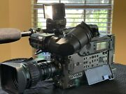 Sony Digital Camcorder Model Dsr-300a With Canon Bctv Zoom Lens Yh18x6.7krs Sy14