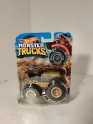 Hot Wheels Monster Trucks Includes Collectible Wheel