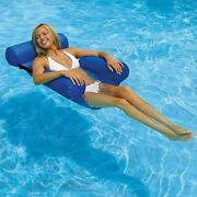 Summer Inflatable Chair 1 Pcs Pool Floating Chairs Outdoor Swimming Relax Couch