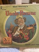 Walt Disneyandrsquos Stories Of Uncle Remus Record-no Picture Book-record Only