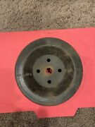 Chevy Truck C60 Nos Gm 3943061 Cb Water Pump Pulley 1/2 Inch Groove 7-1/8 Dia