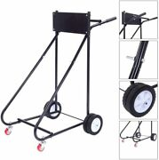 315 Lbs Motor Stand Carrier Cart Outboard Boat Dolly Storage Pro Heavy Duty