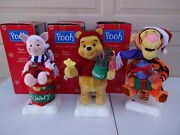 Disney Winnie The Pooh, Tigger And Piglet 16 Animated Christmas Telco