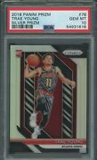 2018-19 Panini Silver Prizm 78 Trae Young Hawks Rc Rookie Psa 10 Gem Mint