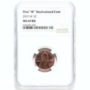 2019 W Lincoln Shield Cent Ngc Ms69