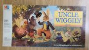 Uncle Wiggly Board Game By Milton Bradley 1988 Complete Very Good