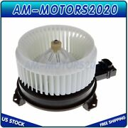 Hvac Heater Blower Motor With Fan Cage Fits Acura Honda Car 79310-t2f-a01