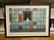 Lithographie Jr - Le Havre Sold Out