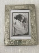 Birth Record Pewter Baby Picture Frame By Schroth's Pewter