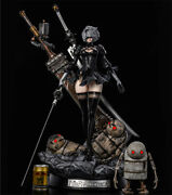 Yorha 2b Resin Statue 8 Studio Collections Ex Version With Lights 65cm Presale