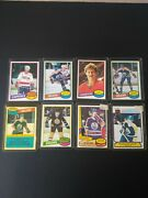 1980-81 Ope Hockey Set. Extremely High Grade Set Every Card Nmt-mt Or Betterandnbspandnbsp