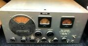 Vintage Hallicrafters Super Defiant Sx 25 Radio Receiver For Parts Only