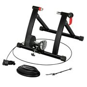 Indoor Exercise Bike Stand Portable Magnetic Resistance Bicycle Trainer Stand