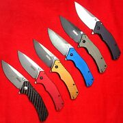 Nos Lot Of 6 Kershaw Knockout 1870 Collectible Assisted Usa Knives Rare Lot