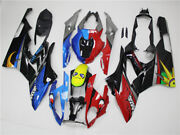 Injection Mold Fairing Fit For Bwm 2015-2016 S1000rr Red Blue Shark Teeth S05
