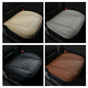 3d Car Front Seat Cover Surround Deodorate Breathable Pu Leather Cushion Mat Pad