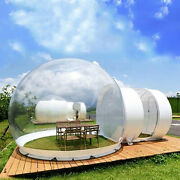 Commercial Inflatable Grade One Room Pvc Clear Eco Dome Camp Bubble Tent Andblower