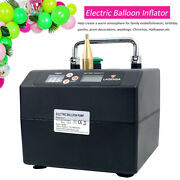 120w Electric Balloon Pump Balloon Inflator Copper Nozzle Air Blower For Party