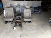 2015 2016 2017 Ford F150 Front Bucket Seats Leather Interior Center Console